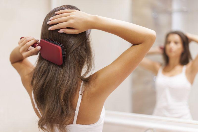 Проблема сухости волос