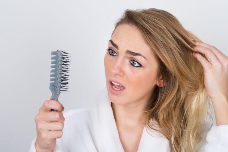 Выпадение волос сухая кожа — Волосы
