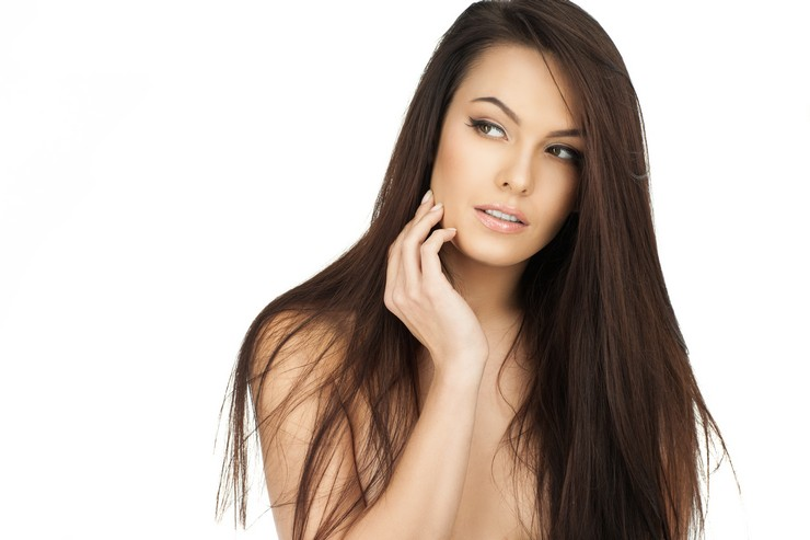 Колорирование - новый тренд для черных волос