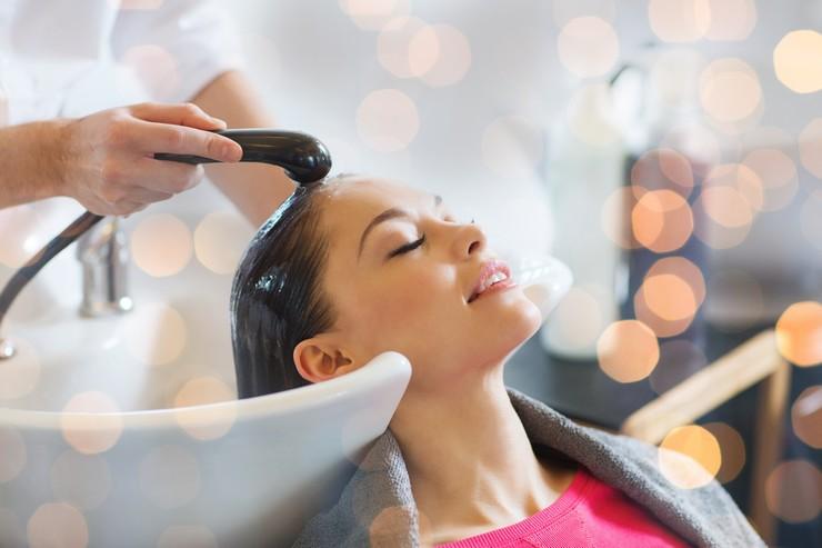 Кислотный пилинг для кожи головы