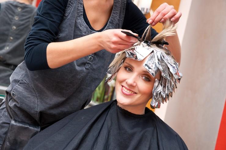 Особенности тонирования седых волос