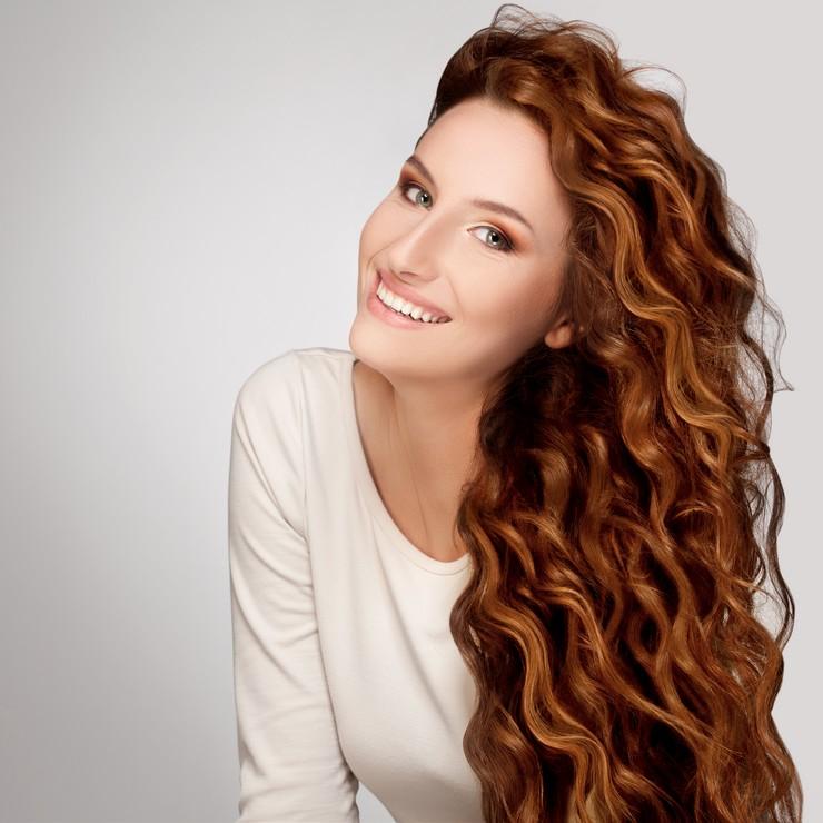 Мелирование для длинноволосых красавиц