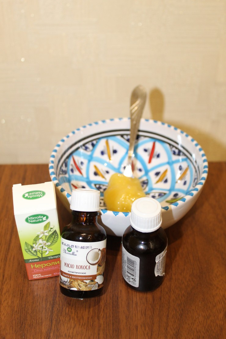 Маска из масла кокоса и меда - экстренное восстановление и защита волос