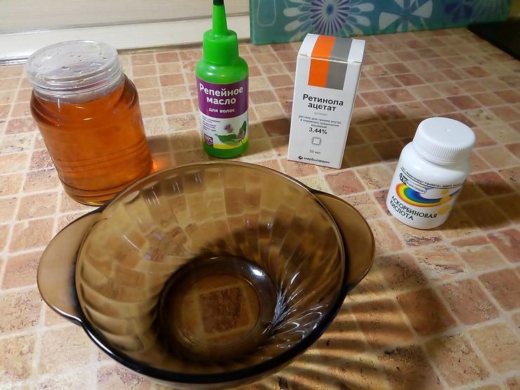 Польза репейного масла в масках для волос