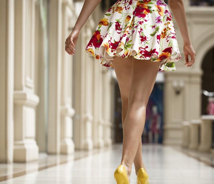 Какой фасон юбки подойдет для фигуры яблоко?