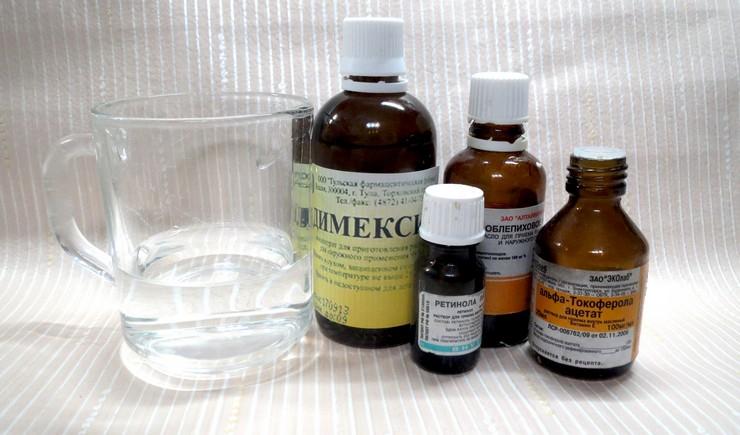 Димексид и облепиха – уникальная заживляющая маска для волос