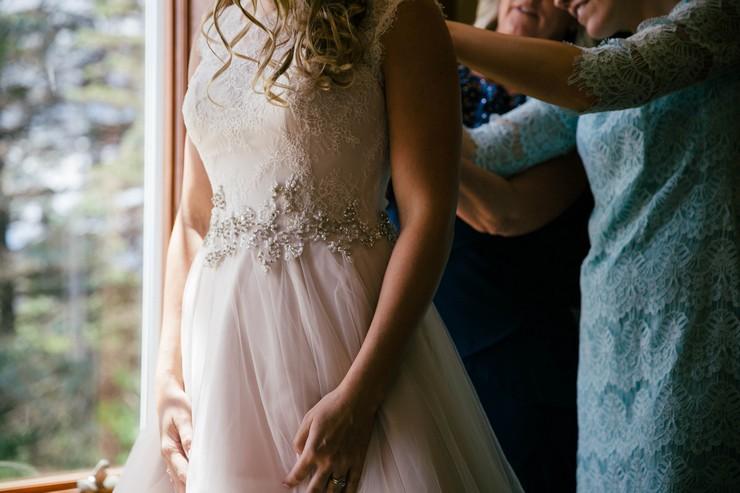 Свадебное платье А ситуэта