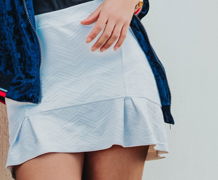 С чем носить юбку-годе
