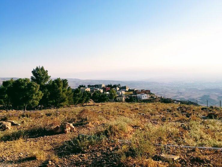 Небо и песок в Иордании