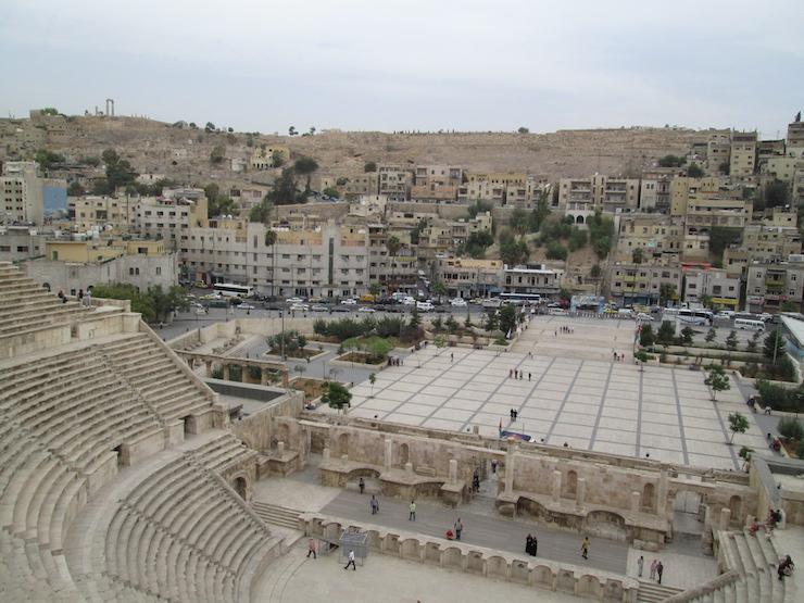 Римский амфитеатр в Аммане