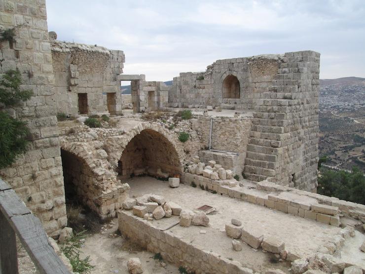 Замок в Иордании