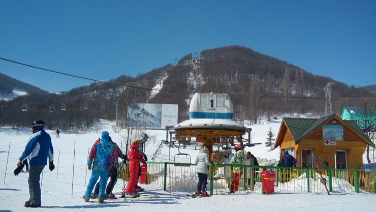 горнолыжный курорт в армении
