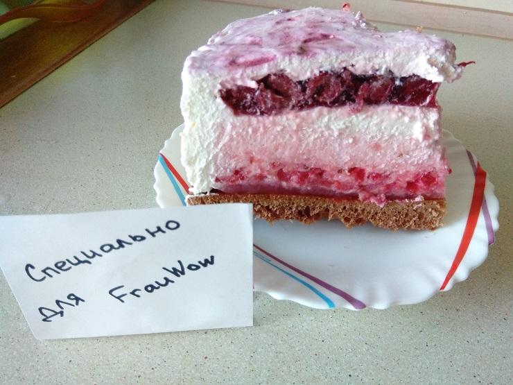 торт фруктовый микс