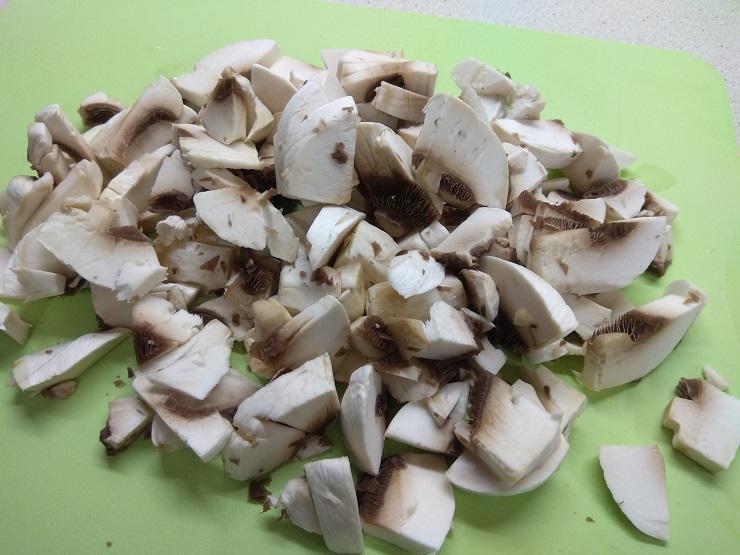 куриная запеканка с грибами