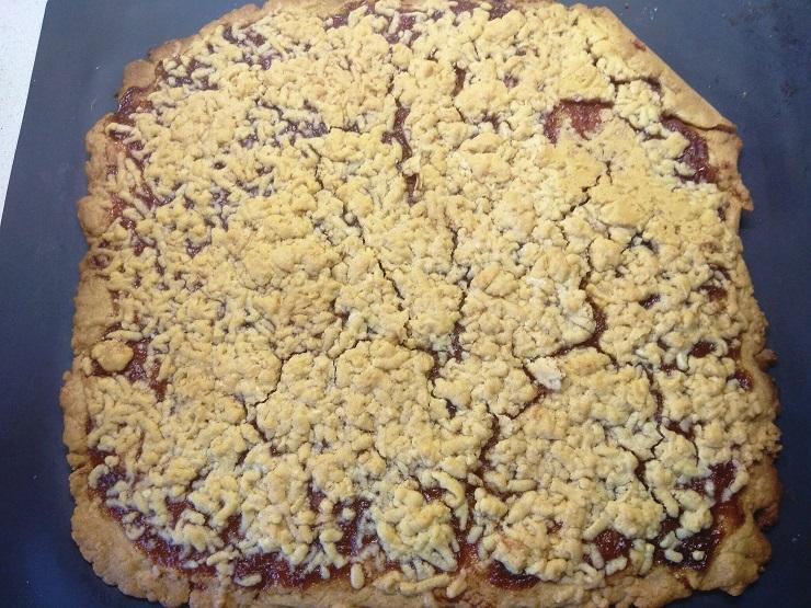 кудрявое печенье