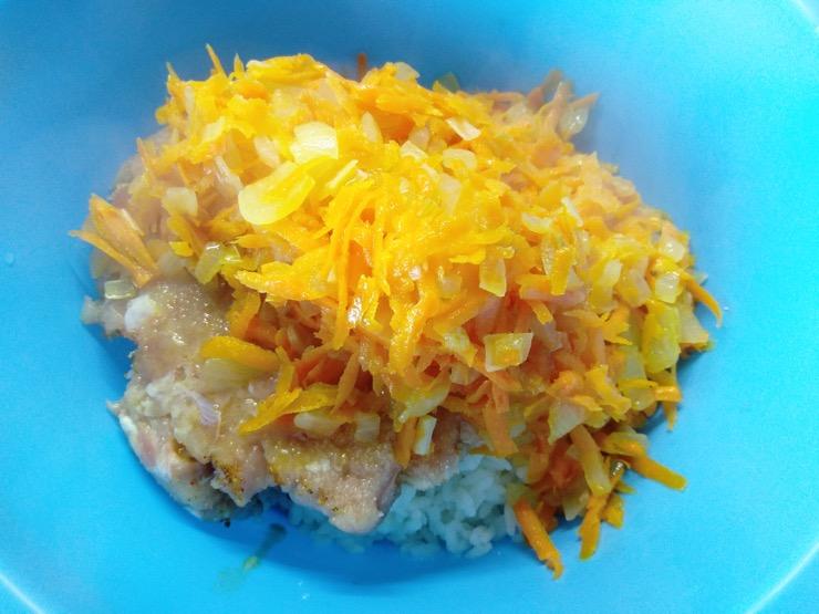 мясные тефтели с рисом