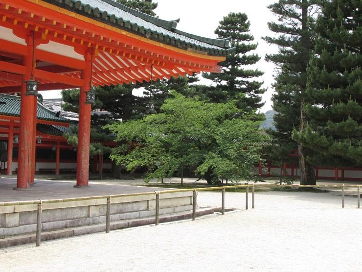 часть дворцово-паркового комплекса в Киото