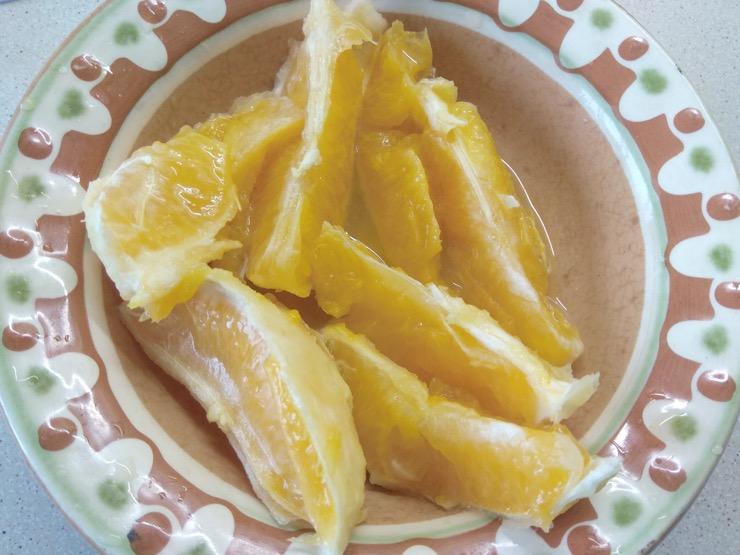 Необычный пирог с апельсином и шоколадом