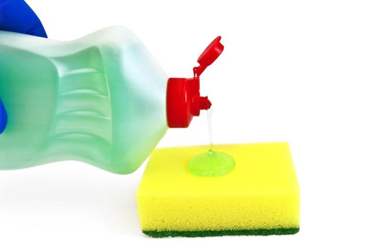 как отстирать машинное масло